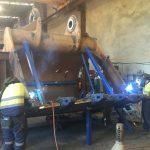 Heavy mobile equipment repairs