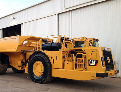 CAT AD55 Ejector Tray