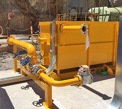 Open Pit Fixed Plant - Surface pump station
