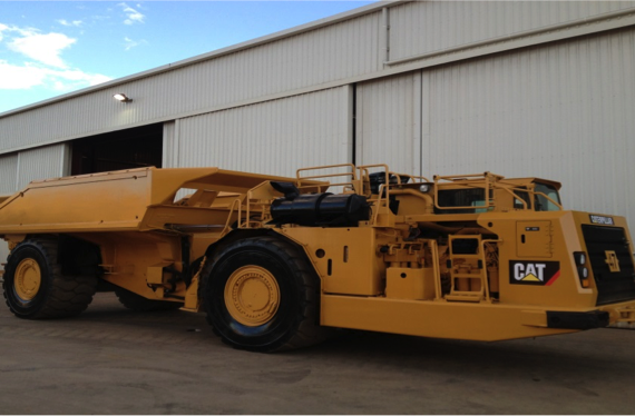 Underground Mining Equipment – CAT AD55 Ejector Tray