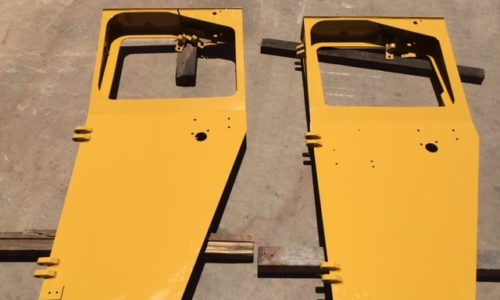 Cabin doors for CAT R1700 and CATR2900
