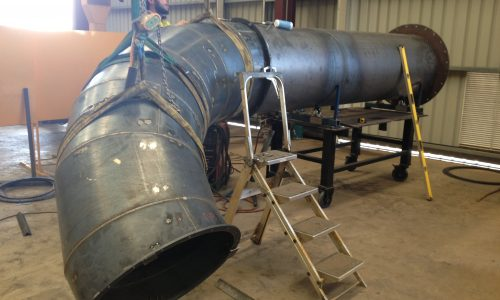 Ducting pipe fabrication
