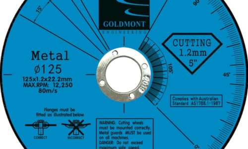 125 x 2.5 x 22.2mm cutting disc available in stock in Kalgoorlie
