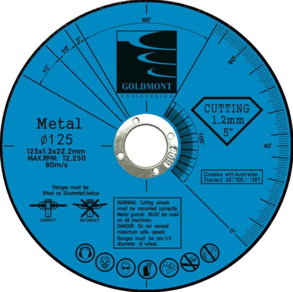cutting disc 125