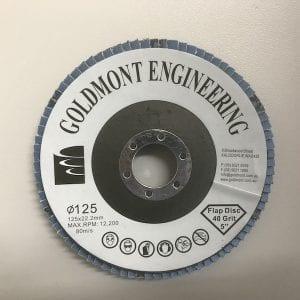 125mm x 22.2mm G40 flap disc