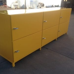 Heavy duty crew lockers