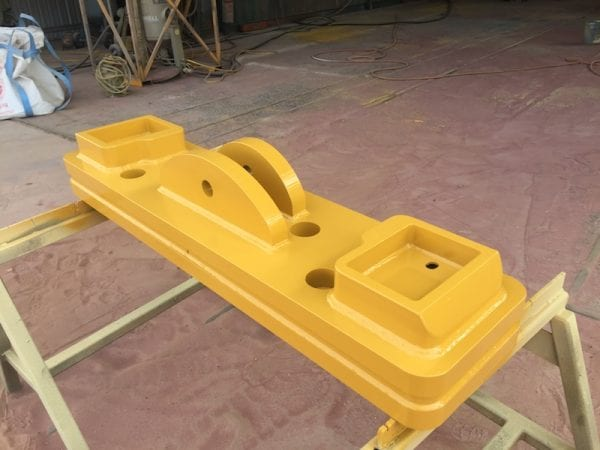 Rear counterweights for CAT excavators, loaders and IT carriers