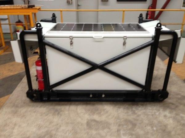 Solar refueling unit