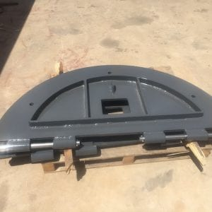 Excavator Belly Guard for EX2500 and EX2600 Hitachi excavator available from Kalgoorlie workshop.