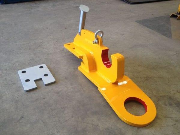 Retrieval system for underground loader