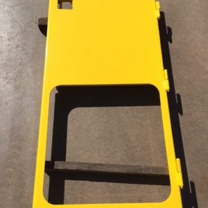 Cab door for Epiroc underground truck