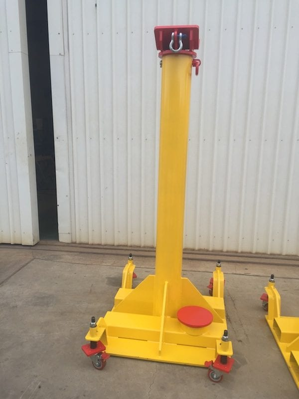 Jumbo Boom Stands side perspective