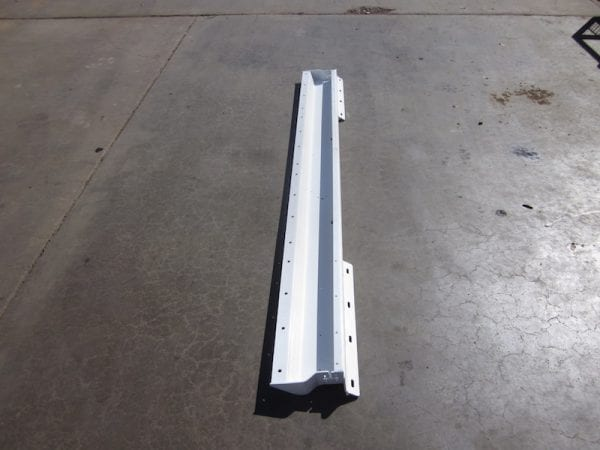 Truck dolly rear light bar