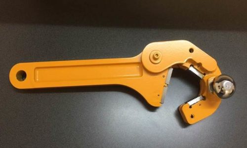 Mining support equipment for sale: Breakout spanner for drill rods