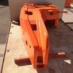 Sandvik bogger corner assembly