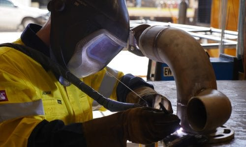 TIG Pipe Welding