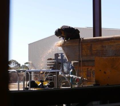 UG Mining Mobile Plant repairs - Gouging