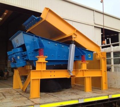Paste plant agitator for use in underground mining