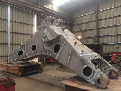Heavy Earthmoving Equipment boilermaking services