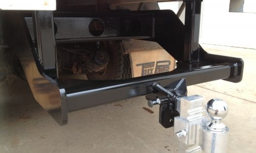 Certified tow hitch for light truck