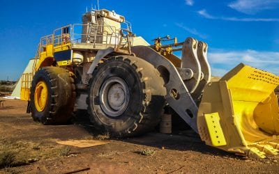Open Pit Mining Equipment – Wheel loader