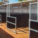 Horse Stall fabricated by Goldmont Engineering