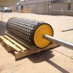 Refurbished conveyor drive roller