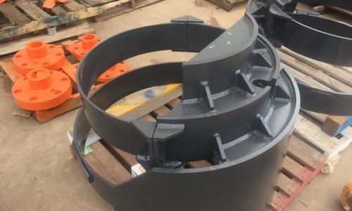 Final drive cover for EX3600 Hitachi excavator