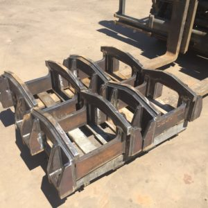 PC1250 excavator track roller guards or track guides