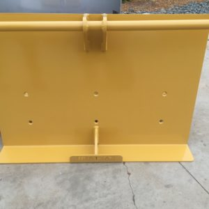 Haul truck wheel chock holders