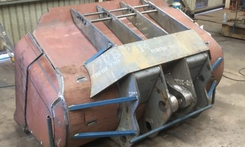 hardox wearparts - loader bucket fabrication
