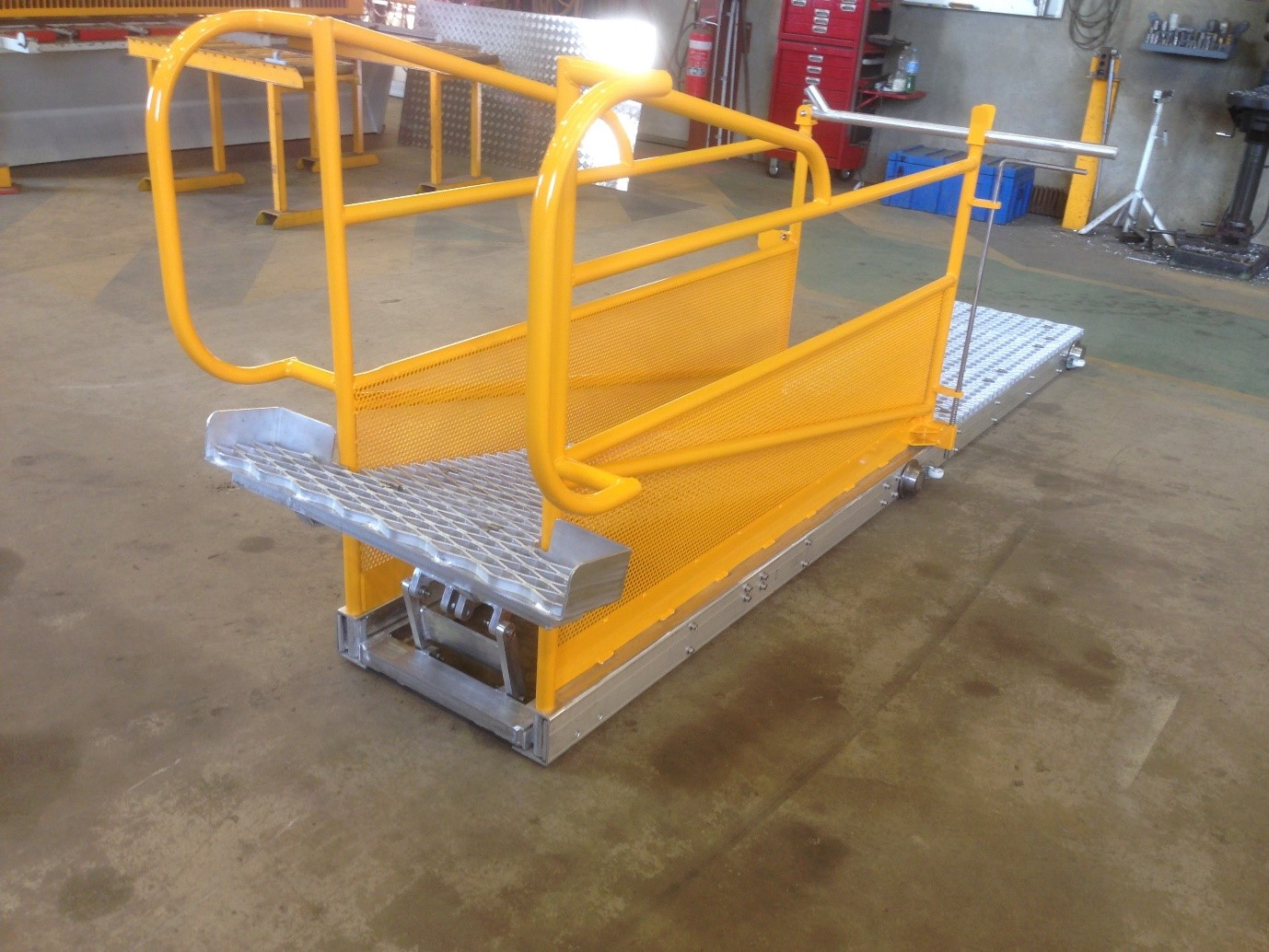 Fabricated Cattle Ramp