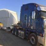 Induction system loaded in Kalgoorlie for transport to site