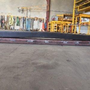 Hardox® Vs mild steel after 40mm deflection test